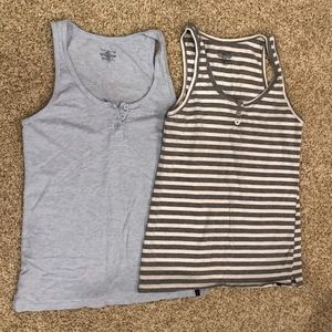 Two tommy hilfiger tanks
